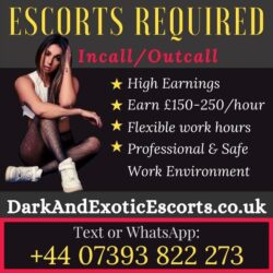 Dark and exotic ad