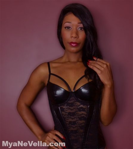 Ebony goddess femdom