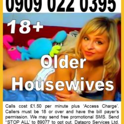Paul Danby - Older Housewives 09090220395