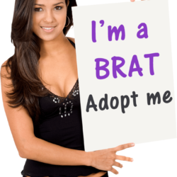 Im a brat.adopt me.original